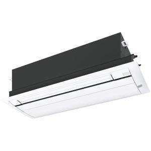 ダイキン ハウジングエアコン 天井埋込カセット形 シングルフロータイプ うるるとさらら S28RCRV 主に10畳程度 パネル:標準パネル(フレッシュホワイト)|denking