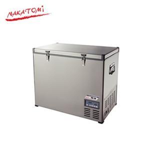 ナカトミ ポータブル冷凍冷蔵庫 PRF-128 単相100/DC12V/DC24V 【法人配達限定販売】|denking