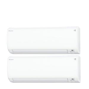 ダイキン マルチエアコン マルチパック PAC-40RV 2.2kW×2台の組合せ(6〜9畳の2部屋) 電源:単相200V(室外電源)|denking