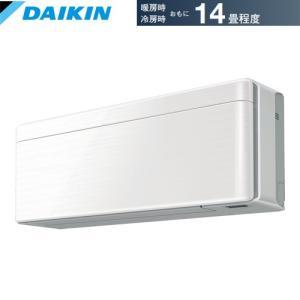 【エアコン 畳】 ダイキン ルームエアコンrisora SXシリーズ S40WTSXP-W 主に14畳用・単相200V・室内電源 【法人配達限定販売】 denking
