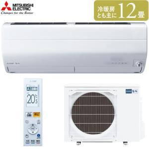 【エアコン12畳】 三菱電機 ルームエアコン Zシリーズ MSZ-ZXV3619S-W 主に12畳用...