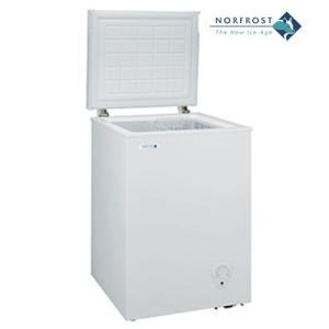 【冷凍庫・94L】ノーフロスト ノンフロン冷凍庫 JH94CR チェストフリーザー|denking