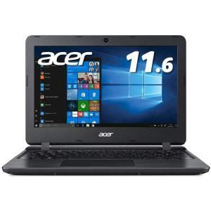 新品 Acer Aspire 1 A111-31-A14PA/F[11.6インチ/Celeron N4000/ストレージ容量 64GB eMMC/メモリ容量 4GB/Windows 10/Office付き/ブラック][在庫あり][即納可]|denkizoku