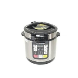 新品 ショップジャパン クッキングプロ 電気圧力鍋 シルバー色 人気の1台8役 FN006316 [在庫あり][即納可]|denkizoku