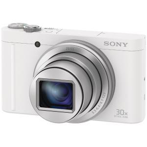 新品 SONY サイバーショット DSC-WX500(W)[3型/USB充電/顔認識/AF自動追尾機能/自分撮り機能/Wi-Fi/NFC/2110万画素/最短撮影距離5cm][在庫あり][即納可] denkizoku