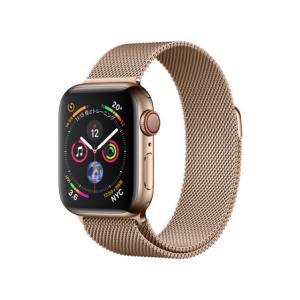 新品 Apple Watch Series 4 GPS+Cellularモデル 40mm MTVQ2J/A [ゴールドミラネーゼループ][在庫あり][即納可] denkizoku