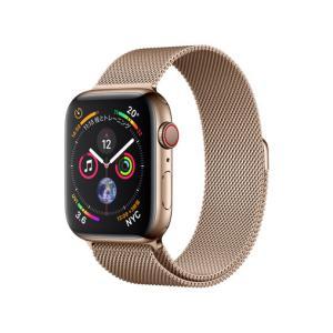 新品 Apple Watch Series 4 GPS+Cellularモデル 44mm MTX52J/A [ゴールドミラネーゼループ][在庫あり][即納可] denkizoku