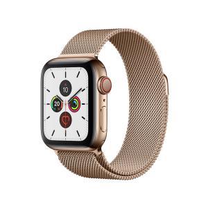 新品 Apple Watch Series 5 GPS+Cellularモデル 40mm MWX72J/A [ゴールドミラネーゼループ][在庫あり][即納可] denkizoku