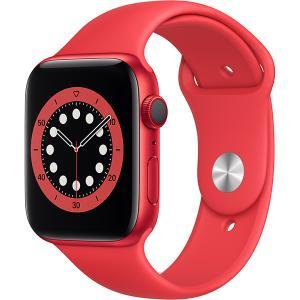新品 アップル Apple Apple Watch Series 6(GPS + Cellularモデル)- 44mm (PRODUCT)REDアルミニウムケースと(PRODUCT)REDスポーツバンド [M09C3J/A] denkizoku