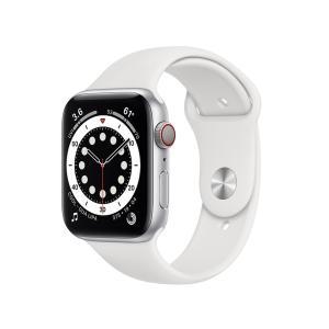 新品 Apple Watch Series 6 GPS+Cellularモデル 44mm MG2C3J/A [ホワイトスポーツバンド][在庫あり][即納可] denkizoku