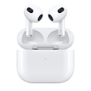 Apple イヤホン AirPods エアーポッズ 第3世代 ワイヤレス(左右分離)/Bluetooth/インナーイヤー型/Magsafe充電/防水 MME73J/A [新品] denkizoku