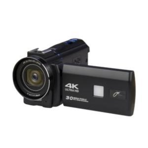 新品 JOYEUX JOY-4KDVCAM-BK ブラック 4Kデジタルマルチムービーカメラ セット[[3型/タッチパネル/専用録音マイク/SDカード付/三脚スタンド][在庫あり][即納可] denkizoku