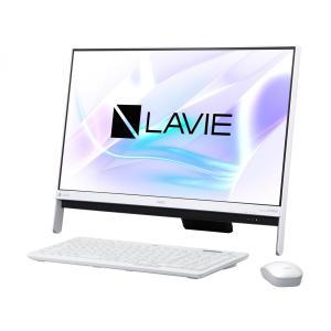新品 NEC LAVIE Desk PC-DA350HAW[23.8インチ/Celeron Dual-Core 3865U/メモリ4GB/HDD1TB/Windows 10/office 2016付属/ファインホワイト][在庫あり][即納可]