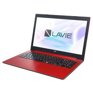 NEC ノートパソコン LAVIE Smart NS PC-SN11FNRDD-D [カームレッド]の商品画像|ナビ