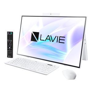 新品 NEC LAVIE Home All-in-one PC-HA970RAW[27インチ/Core i7 10510U/HDD3TB+SSD256GB/メモリ8GB/Office 付き/テレビ機能搭載/BD-R/RE][在庫あり][即納可]|denkizoku
