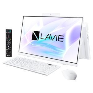 新品 NEC LAVIE Home All-in-one HA770 PC-HA770RAW[23.8インチ/Core i7 10510U/HDD3TB+SSD256GB/メモリ8GB/Windows 10/Office 付き][在庫あり][即納可]|denkizoku