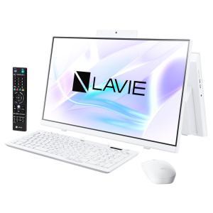 新品 NEC LAVIE Home All-in-one PC-HA370RAW[23.8インチ/Celeron 5205U/HDD1TB/メモリ8GB/Windows 10/TV機能搭載/Office 付属/DVD±R][在庫あり][即納可]|denkizoku