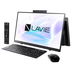 新品 NEC LAVIE Home All-in-one PC-HA370RAB[23.8インチ/Celeron 5205U/HDD1TB/メモリ8GB/Windows 10/TV機能搭載/Office 付属/DVD±R][在庫あり][即納可] denkizoku