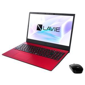 新品 NEC LAVIE N15 N1575/AAR PC-N1575AAR[15.6インチ/Core i7 10510U/SSD512GB/メモリ8GB/Windows 10/Office 付き/BD-R/BD-RE/顔認証][在庫あり][即納可]|denkizoku