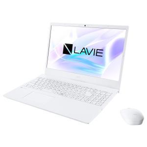 新品 NEC LAVIE N15 N1515/AAW PC-N1515AAW[15.6インチ/AMD Athlon Silver 3050U/SSD256GB/メモリ容量4GB/Windows 10/Office 付き/DVD±R][在庫あり][即納可]|denkizoku