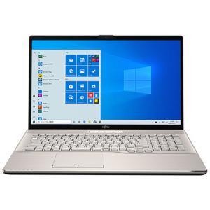 新品 富士通 FMV LIFEBOOK FMVN90E2G[17.3型/Core i7 10750H/HDD1TB/SSD256GB+16GB Optaneメモリ/メモリ8GB/Office 付き/Windows 10][在庫あり][即納可]|denkizoku