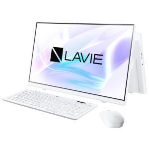 新品 NEC LAVIE A23 A2365/BAW PC-A2365BAW[23.8インチ/Core i7 10510U/メモリ容量8GB/SSD512GB/Windows 10/Office 付き/DVD±R][在庫あり][即納可] denkizoku