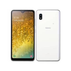 新品 未使用品 白ロム Galaxy A20 scv46 ホワイト [UQ mobile][在庫あり][即納可] denkizoku
