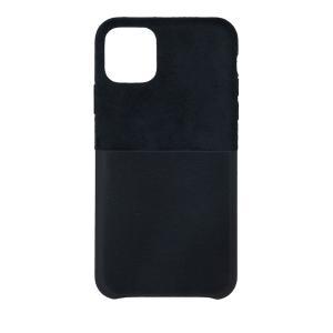 新品未開封 未使用 NTTドコモ正規品 iPhone 11 Pro Max レザーシェルポケットケース<ブラック> denkizoku
