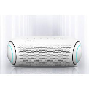 新品 LG XBOOMGo PL7W Bluetooth スピーカー[Google Assistant 対応/入出力USB-C/スピーカー用途車内/長時間バッテリー/防水/ホワイト][在庫あり][即納可]|denkizoku