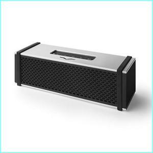 V-MODA REMIX Bluetooth Hi-Fi Metal Mobile Speaker - Silver|denkizoku
