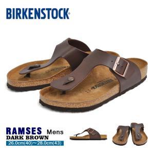 ビルケンシュトック ラムゼス トングサンダル メンズ BIRKENSTOCK RAMSES DARK BROWN 0044701|denpcy