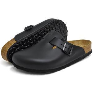 ビルケンシュトック サンダル メンズ レディース ボストン ソフトフットベッド ブラック BIRKENSTOCK BOSTON SOFT FOOTBED BLACK 0060411 0060413|denpcy