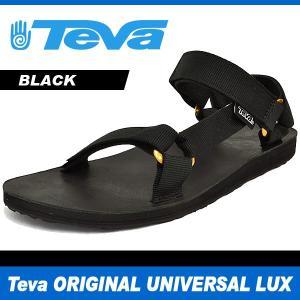 テバ サンダル メンズ オリジナル ユニバーサル ラックス ブラック Teva ORIGINAL UNIVERSAL LUX BLACK 1006911 denpcy