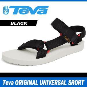 テバ サンダル レディース オリジナル ユニバーサル スポーツ ブラック Teva ORIGINAL UNIVERSAL SPORT BLACK 1008645|denpcy