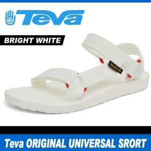 テバ サンダル レディース オリジナル ユニバーサル スポーツ ブライト ホワイト Teva ORIGINAL UNIVERSAL SPORT BRIGHT WHITE 1008645|denpcy