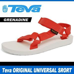 テバ サンダル レディース オリジナル ユニバーサル スポーツ レッド Teva ORIGINAL UNIVERSAL SPORT GRENADINE RED 1008645 denpcy