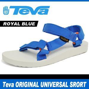 テバ サンダル レディース オリジナル ユニバーサル スポーツ ロイヤル ブルー Teva ORIGINAL UNIVERSAL SPORT ROYAL BLUE 1008645 denpcy