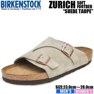 ビルケンシュトック サンダル チューリッヒ ビーエス ソフトフットベッド トープ BIRKENSTOCK ZURICH BS SOFT FOOTBED TAUPE 1009532 1009533|denpcy
