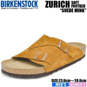 ビルケンシュトック サンダル チューリッヒ ビーエス ソフトフットベッド ミンク BIRKENSTOCK ZURICH BS SOFT FOOTBED MINK 1009534 1009535|denpcy