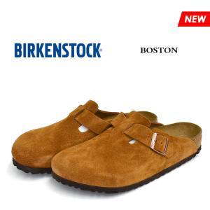 ビルケンシュトック サンダル メンズ レディース ボストン ソフトフットベッド ミンク BIRKENSTOCK BOSTON SOFT FOOTBED MINK 1009542 1009543|denpcy