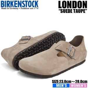 ビルケンシュトック コンフォートシューズ メンズ レディース ロンドン トープ BIRKENSTOCK LONDON TAUPE 1010503 1010504|denpcy