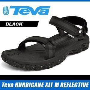 テバ サンダル メンズ ハリケーン XLT M リフレクティブ ブラック Teva HURRICANE XLT M REFLECTIVE BLACK 1013913 denpcy