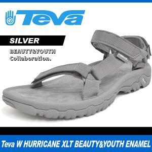 テバ サンダル メンズ W ハリケーン XLT ビューティー&ユース エナメル シルバー Teva W HURRICANE XLT BEAUTY&YOUTH ENAMEL SILVER 1014300 denpcy