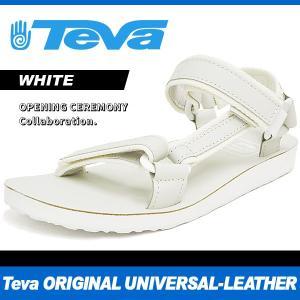 テバ オープニング セレモニー オリジナル ユニバーサル レザー ホワイト Teva OPENING CEREMONY ORIGINAL UNIVERSAL LEATHER WHITE 1016118|denpcy
