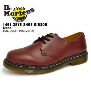 ドクターマーチン 3ホール メンズ 1461 ギブソン チェリーレッド Dr.Martens 3HOLE GIBSON CHERRY RED 11838600|denpcy