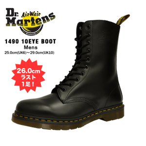 ドクターマーチン 10ホール メンズ 1490 ブーツ ブラック Dr.Martens 1490 10HOLE BLACK 11857001|denpcy