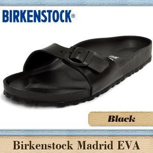 ビルケンシュトック サンダル メンズ レディース マドリッド EVA ブラック BIRKENSTOCK Madrid Black 12816 denpcy