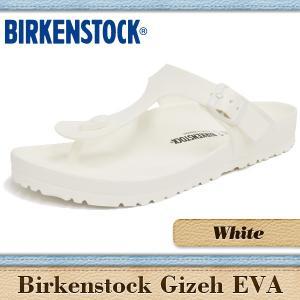 ビルケンシュトック サンダル メンズ レディース ギゼ エバ ホワイト BIRKENSTOCK GIZEH EVA WHITE 128221|denpcy