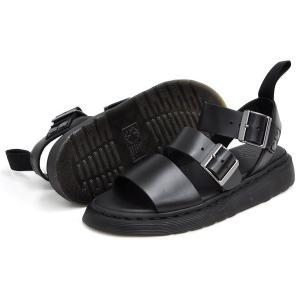 ドクターマーチン サンダル レディース メンズ グリフォン ブラックブランド Dr.Martens GRYPHON BLACK BRANDO 15695001 denpcy 02