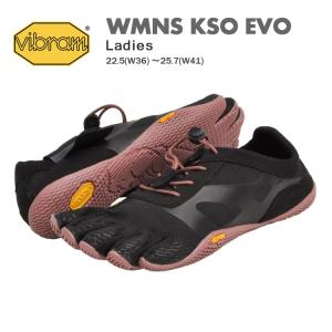 ビブラム ファイブフィンガーズ シューズ レディース ウィメンズ ケイエスオー エボ ブラック/ピンク Vibram FiveFingers KSO EVO BLACK/PINK 18W0701 denpcy